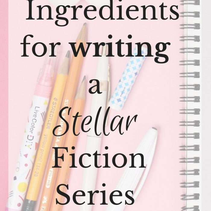 Write a Stellar Series: 3 Ingredients You Need