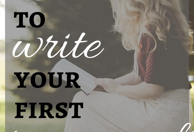 Three Things You Need to Write Your First Romance Novel