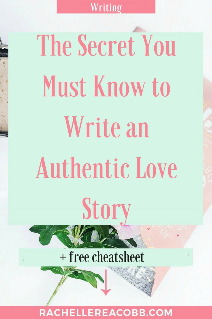 Snag the worksheet and learn the secret to writing an authentic love story