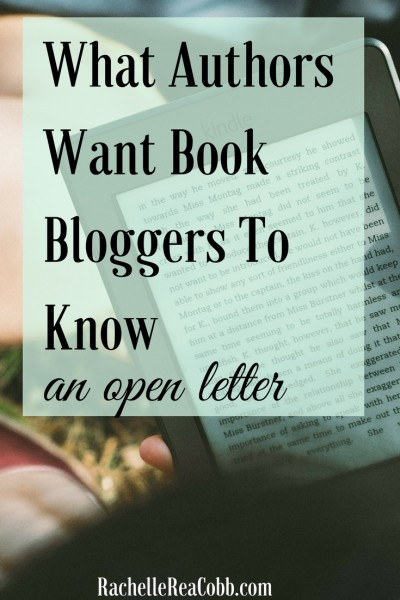 an open letter from writers to readers