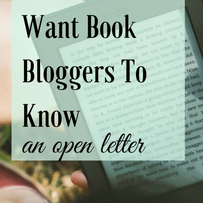 What Authors Want Book Bloggers to Know