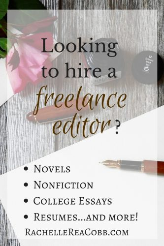 Need a Freelance Editor?