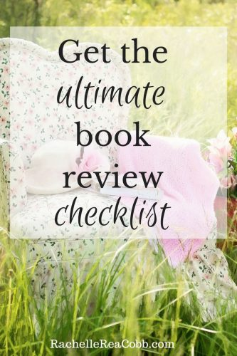Get the ultimate book review checklist