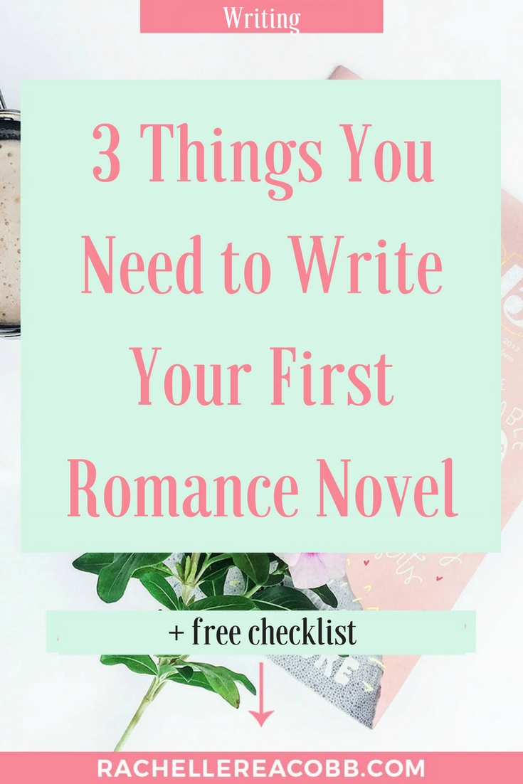 Write a Romance Novel that sweeps readers off their feet. Get the checklist