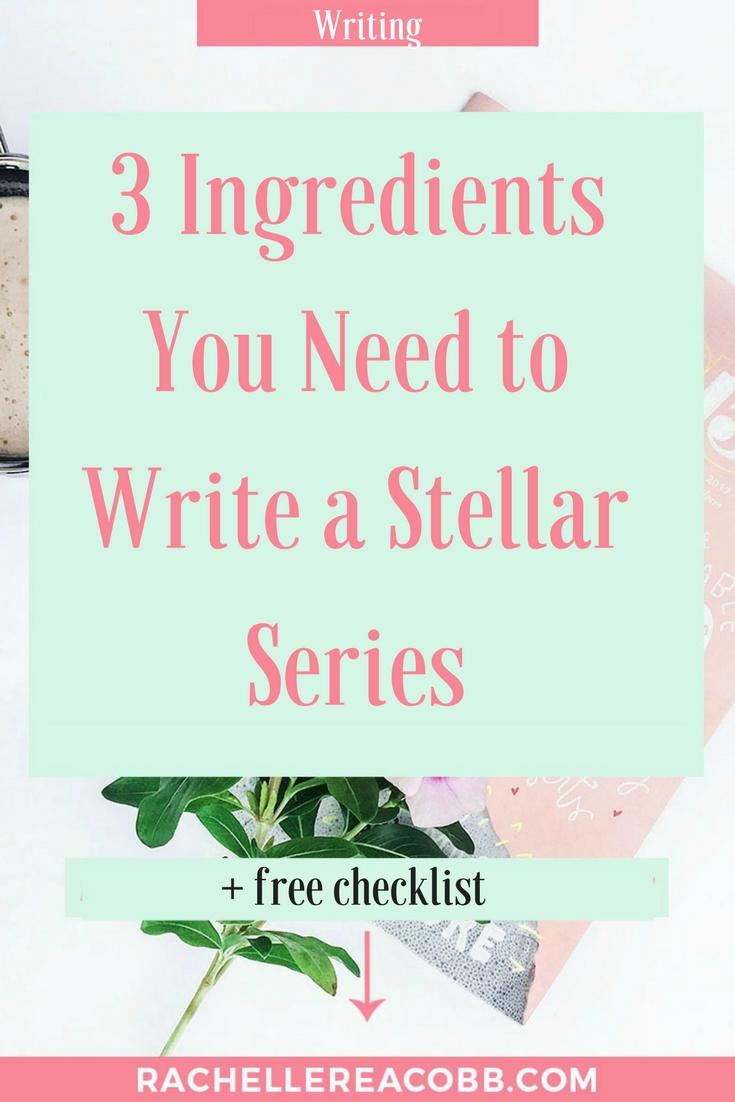 How to Write a Stellar Romance Series