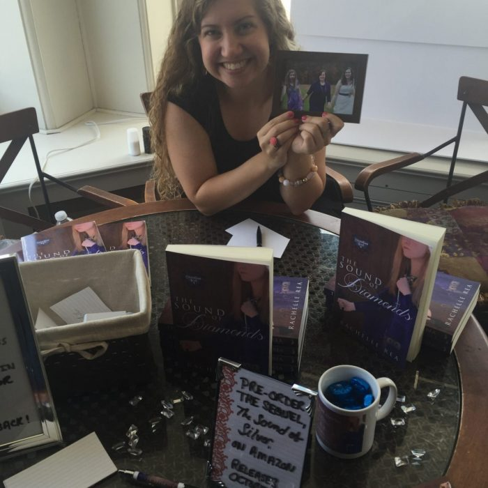 My First Ever Book Signing