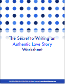 free worksheet for writing an authentic love story