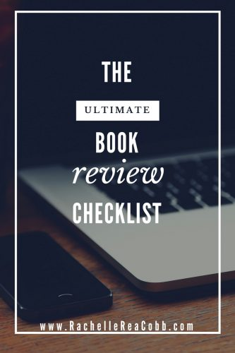The Ultimate Book Review Checklist