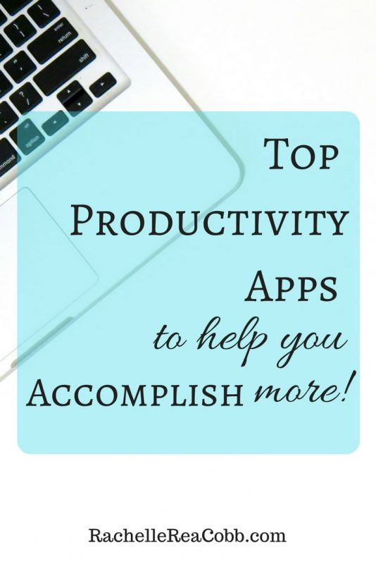 Top Productivity Apps to help you accomplish more!